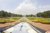 Brindaban Gardens close to Mysore — Stockfoto