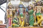 Sita, Rama, Lakshman and Hanuman — Stock Photo