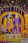 Radha Krishna'nın Tanrılar — Stok fotoğraf