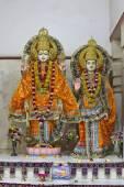 Deities of Sita and Rama — Stock Photo
