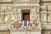 Detail of Rangaji temple — Stock Photo