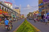 Vijayawada-Stadt — Stockfoto