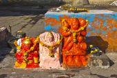 Küçük Hindu Tapınak — Stok fotoğraf