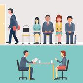 Recruitment — Stock Vector