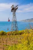Cableway in Yalta. Crimea. Russia. — Stock Photo