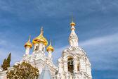 Alexander Nevsky Orthodox church in Yalta.  — Stock fotografie