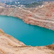 Artificial the quarry with blue water Balaklava.  — Stock Photo #68752707