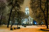 View of the Spaso-Preobrazhensky Cathedral. — Stock Photo