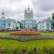 Smolny Cathedral in St. Petersburg, Russia. — Stock Photo #78094216
