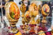 YALTA, UKRAINE - MAY 16: Art Exhibition of artists — Stock Photo