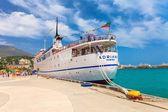 YALTA, UKRAINE - MAY 24: The ADRIANA cruise ship — Stock Photo