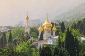 Cathedral of St. Alexander Nevsky. Yalta, Crimea — Stock Photo