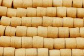 Golden Haystacks texture — Stock Photo