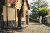 SZENTENDRE, HUNGARY,  house at steet in summer — Stock Photo
