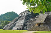 Palenque Ancient Mayan temples — Stock Photo