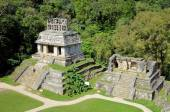 Palenque Mayan ruins temple of the Sun in Mexico  — Stock Photo