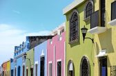 Campeche City in Mexico — Stock Photo