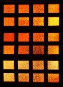 Glass red orange window — Стоковое фото