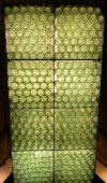 Pile of green bottles — Foto de Stock