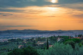 View on Florence from the hills — Stock Photo