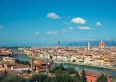 Landscape of the Florence, Italy  — Stock Photo