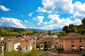 Greve in Chianti cityscape — Stock Photo