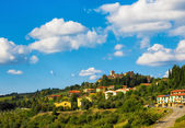 Tuscany  town in the hills — Stock Photo