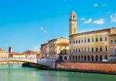 Florence riverside — Stock Photo