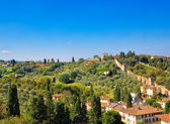 Florence suburbs — Stock Photo