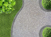 Tuin ontwerp — Stockfoto