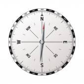 Modern compass vector — Stock Vector