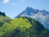 Impressing mountain landscape — Stock Photo
