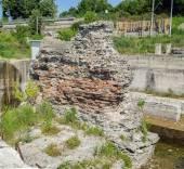 Trajan's Bridge Remainings — Stock Photo