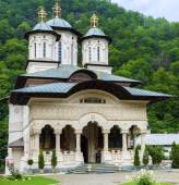 Lainici Monastery — Stock Photo
