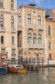 Old historic houses in Venice — Stock Photo