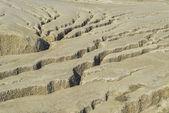 Gleby duże pęknięcia — Zdjęcie stockowe