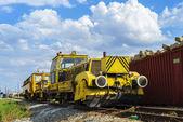 Railway repair power equipment — Foto Stock