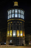 Fire Tower Bucharest during night — Stock Photo