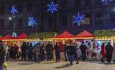 Weihnachtsmarkt in Bukarest — Stockfoto