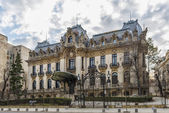 Cantacuzino Palace nowadays George Enescu National Museum in Bucharest — Stock Photo