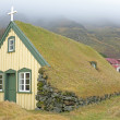 Traditional icelandic church in the countryside from Iceland — Stock Photo #60283409