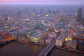 London rooftop view panorama — Stock Photo