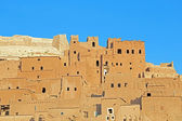 Clay kasbah Ait Benhaddou in Morocco — Stock Photo