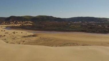 Atlantische oceaan in portugal — Stockvideo