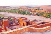 The fortified town of Ait ben Haddou — Stock Photo