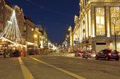Christmas in Amsterdam the Netherlands — Foto de Stock