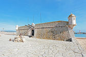 Medieval Fortaleza da Ponta da Bandeira — Stock Photo