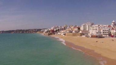 Köy ve liman hava — Stok video