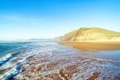 Praia Vale Figueiras at the westcoast — Stock Photo