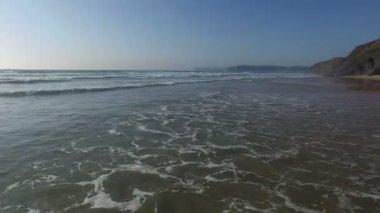 Ocean waves under the atlantic ocean — Wideo stockowe